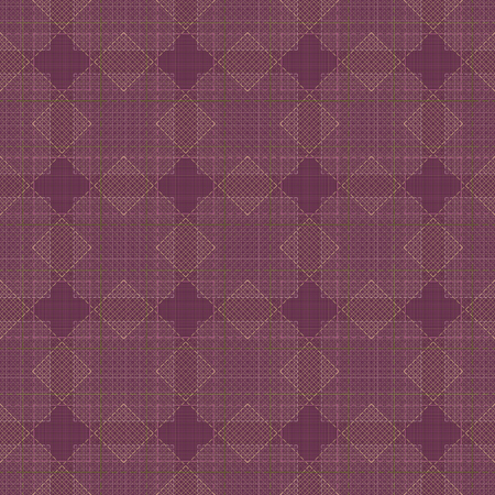 Background burgundy with diamonds. Seamless. Abstract