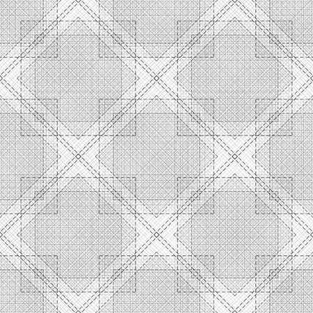 Black and white background. Seamless. Square, rum line. Abstract.