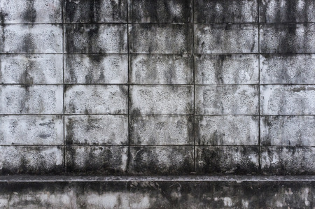 cranny: Old concrete wall as background