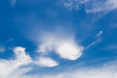 nebulosity: Clouds with blue sky Stock Photo