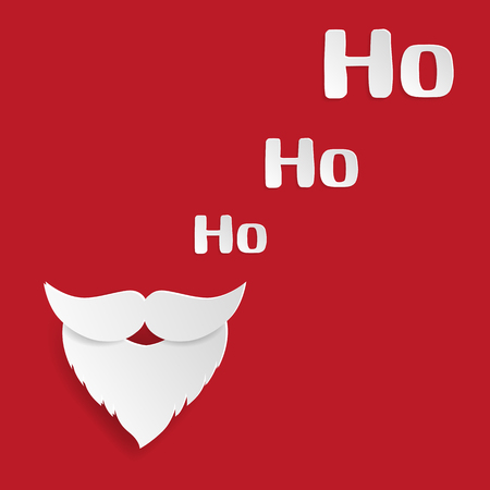 Merry christmas and happy new year greeting card santa claus merry christmas and happy new year greeting card santa claus mustache and ho ho m4hsunfo