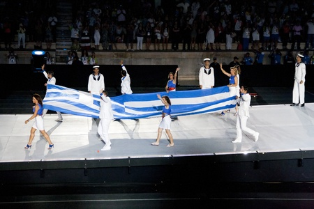 Athens 2011 Special Olympics Opening Ceremony - Flag