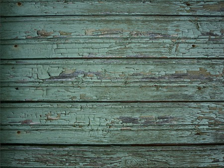 peeling paint: Background of shabby wooden planks. Texture of wooden wall with peeling paint