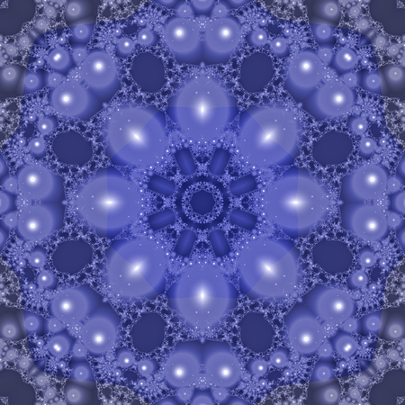 Seamless Mandala. Colorful mandala. Intertwined figure of different colors. Geometric and floral designs. Mystical and iconic image.