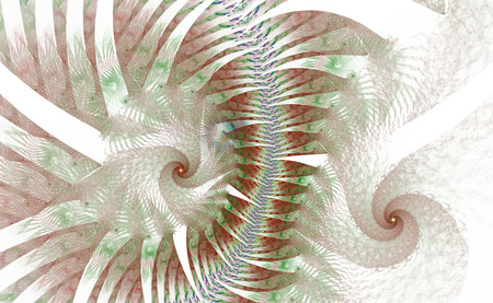 The fantasy worlds of fractals. Fractal image of magical shapes and colors. Repetitive lines and swirls. Illustration of the possibilities of the imagination. Incredible mathematical calculations. Stock Illustration - 84751897