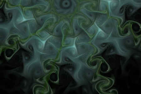 The fantasy worlds of fractals.