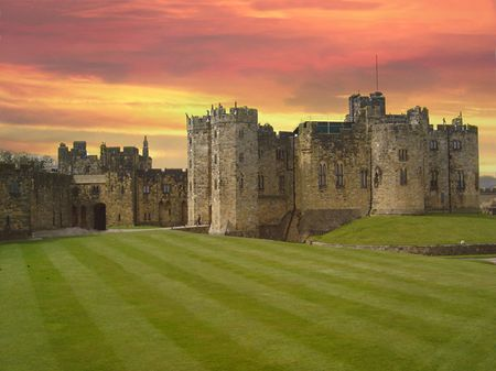 harry: Alnwick Castle
