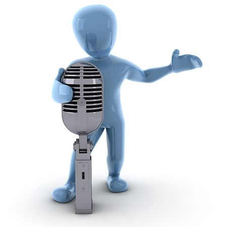 Borko singing photo