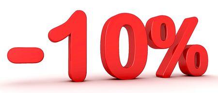 -10% photo