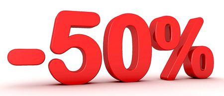 -50% Stock Photo - 7455172