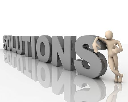 Solutions Stock Photo - 7455167