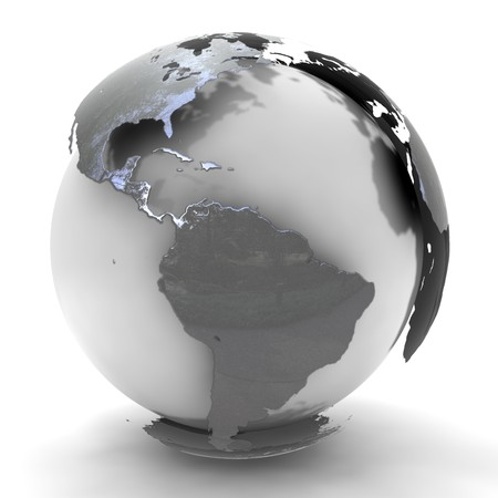world globes: world Stock Photo