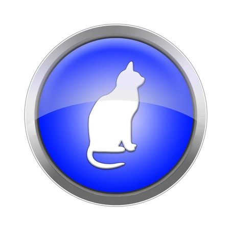 Button Cat Stock Photo - 7781044