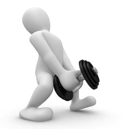 levantar peso: levantamiento de pesas