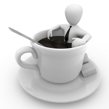 Kaffeepause Lizenzfreie Bilder
