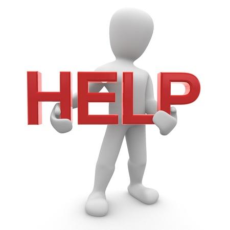 Borco HELP Stock Photo - 8402899
