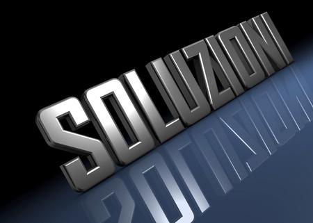 soluzioni Stock Photo - 8487735