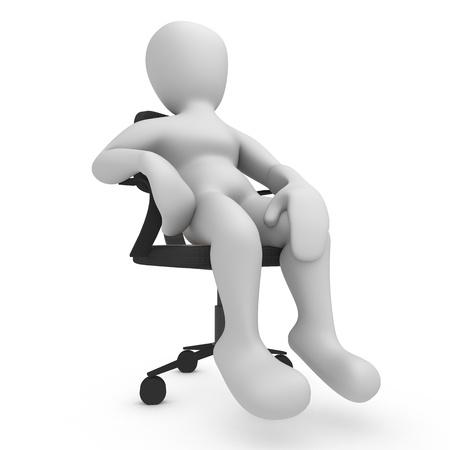 Sitting Borko Stock Photo - 8402876