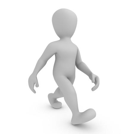figuras abstractas: Caminar