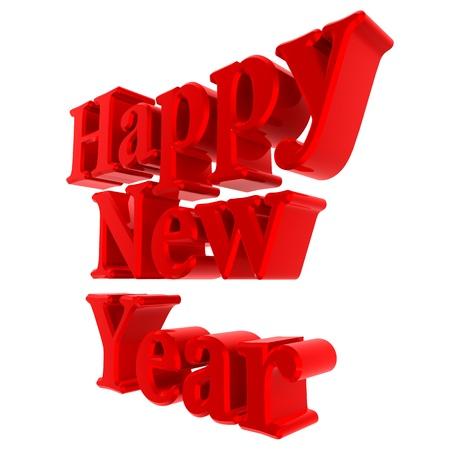 lyrics: Lyrics happy new year light red