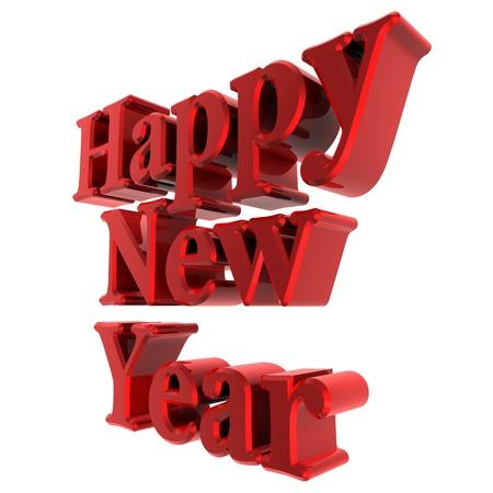 lyrics: Happy new year lyrics dark red Stock Photo
