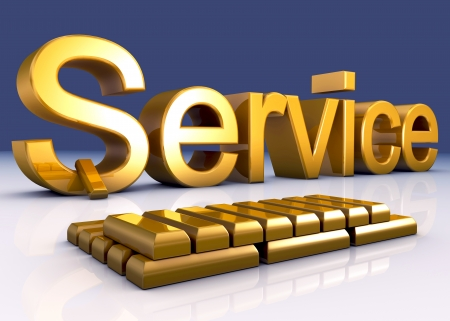 customer service: Gold Service