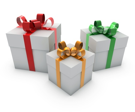 free christmas background: gifts