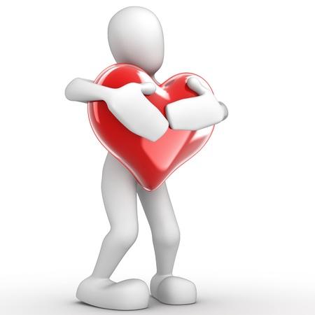 Zeichen mit Herz