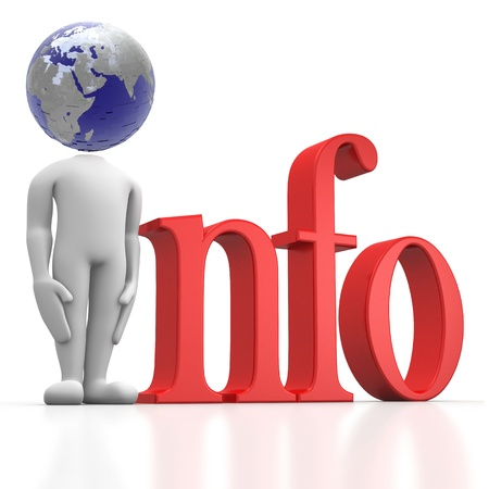 global information Stock Photo