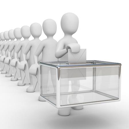 voting box: votazione
