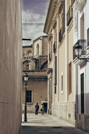 Alley old Valencia Stock Photo - 13424642