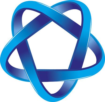 blue logo: blue Logo Illustration
