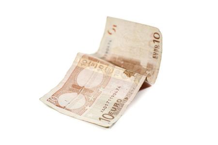 Zehn Euro-Banknote Standard-Bild