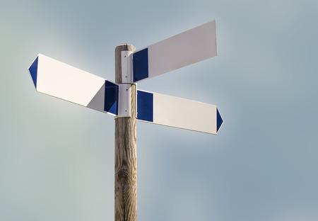 indicador de camino  Straßenmarkierung