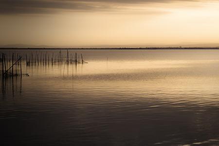 Der See von El Saler, Valencia