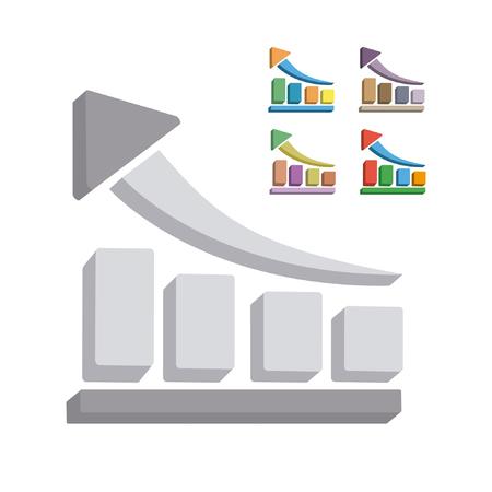 referral: Vector statistics Illustration