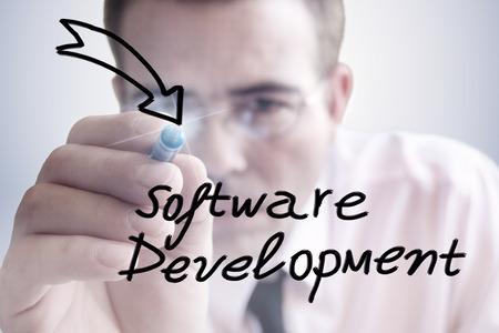 Software-Entwicklung Standard-Bild