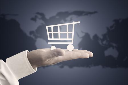 Online-Shop Standard-Bild