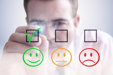 consumer: Consumer choice Stock Photo