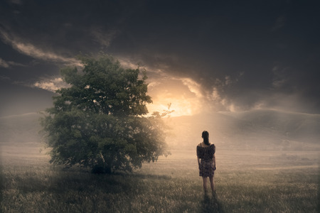 The inner awakening Standard-Bild