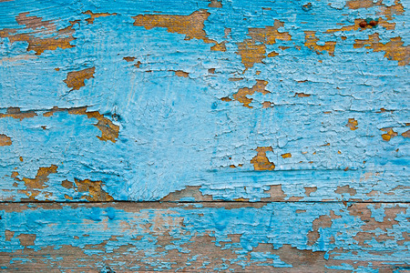 flaking: Wood texture with painting color peeled off. Flaking paint - wood background texture.