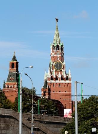 And Spassky Tower of Moscow Kremlin Tsar photo