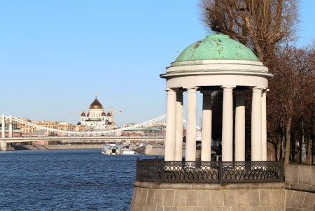 Embankment of the Moskva River photo