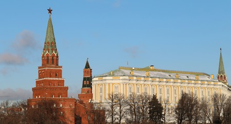 Moscow Kremlin a Photographed close up . photo