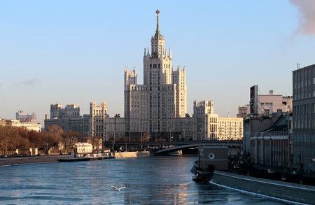 kotelnicheskaya embankment: Kotelnicheskaya Embankment Building in the center of Moscow