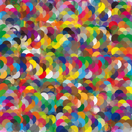 illustrated: Colorful illustrated a abstraction the colorful background Stock Photo