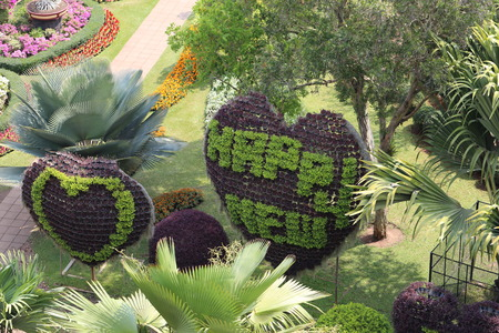 french model: Model French Park in Thailand in Pattaya in the Park Nong Nooch
