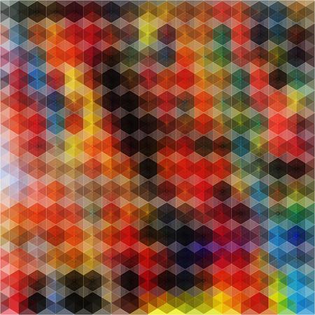abstrakce: Barevné ilustrovaný abstrakce na barevné pozadí Ilustrace