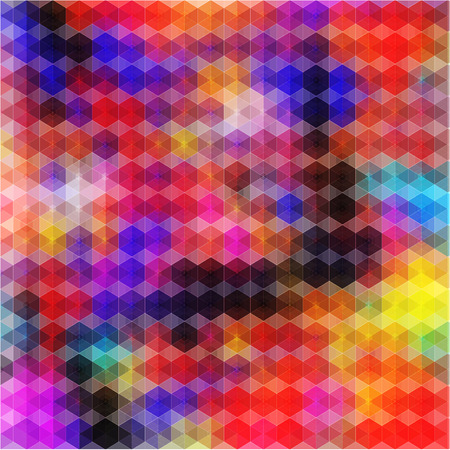 illustrated: Colorful illustrated a abstraction the colorful background Illustration