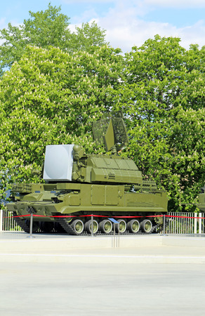 targets: Missile and anti-aircraft gun military tracked knocks aerial targets
